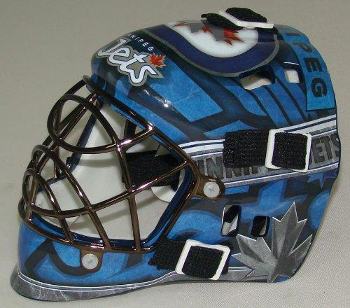 fan products of Franklin Sports NHL League Logo Winnepeg Jets Mini Goalie Mask