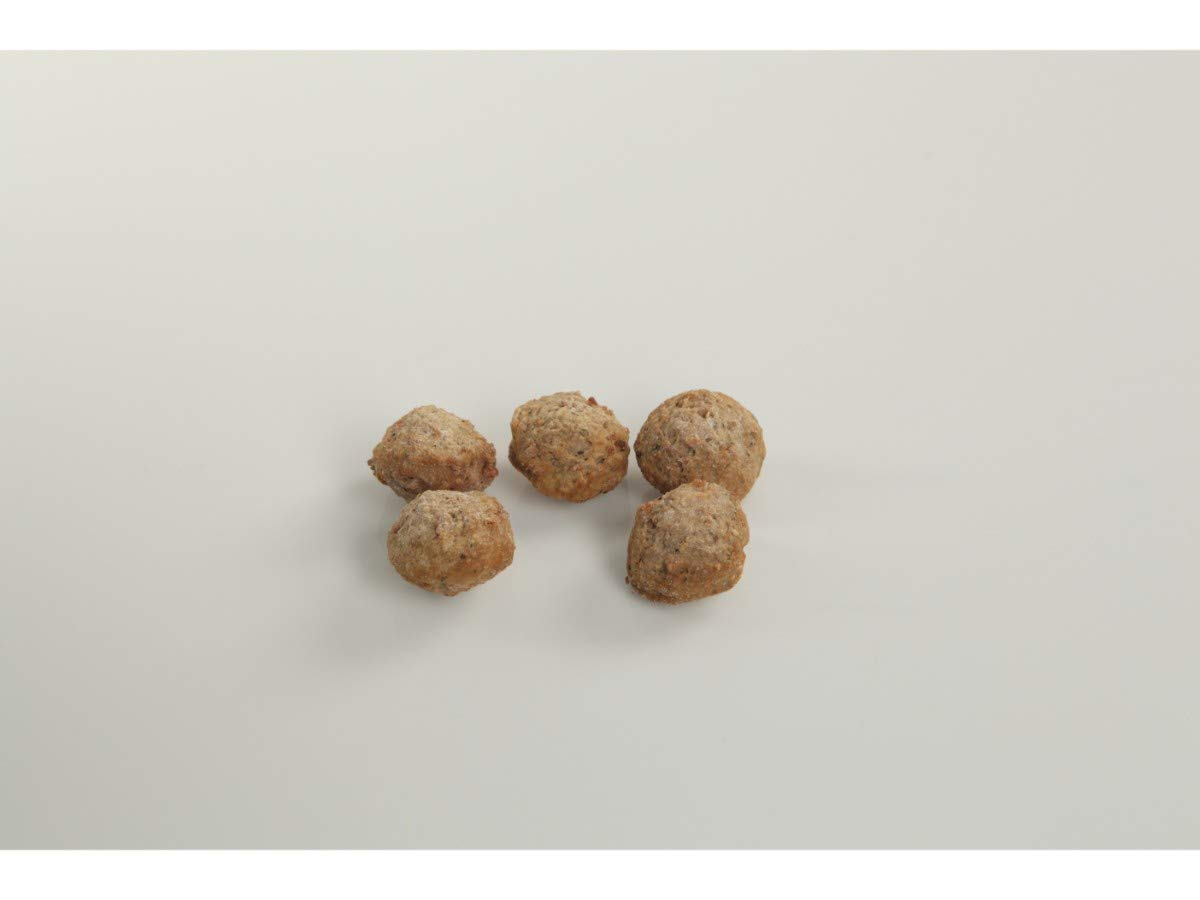 Bonici Mid Tier Fully Cooked Oven Roasted Italian Style Pork Beef Meatball, 0.5 Ounce -- 1 each.