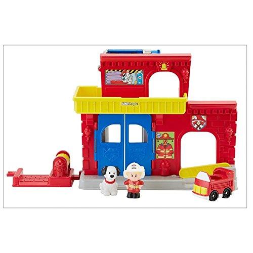 Fisher-Price Little People Wheelies Fire Station (People Nursery)