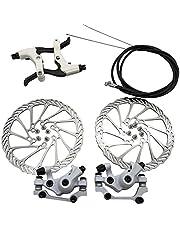 Mechanische schijfremmen set voor achter, remklauw, remkit, remhendel, remkit 160 mm rotoren voor mountainbike-onderdelen