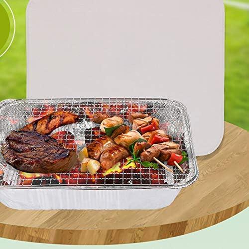 Barbecues Jetables InstantanéS, Barbecue Respectueux De l'environnement à Charbon de Bois à Combustion Rapide Domestique sans Charbon de Bois