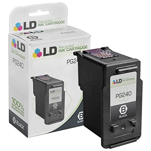 LD Canon PG-240 (5207B001) Black Remanufactured Inkjet Cartridge