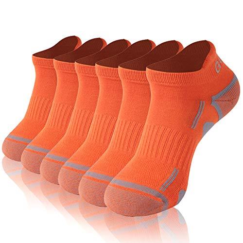 No Show Socks,Gotops Women Non Slip Athletic Running Sock Coolmax Low Cut Christmas Socks Best Christmas Gifts 3 Pair-Black