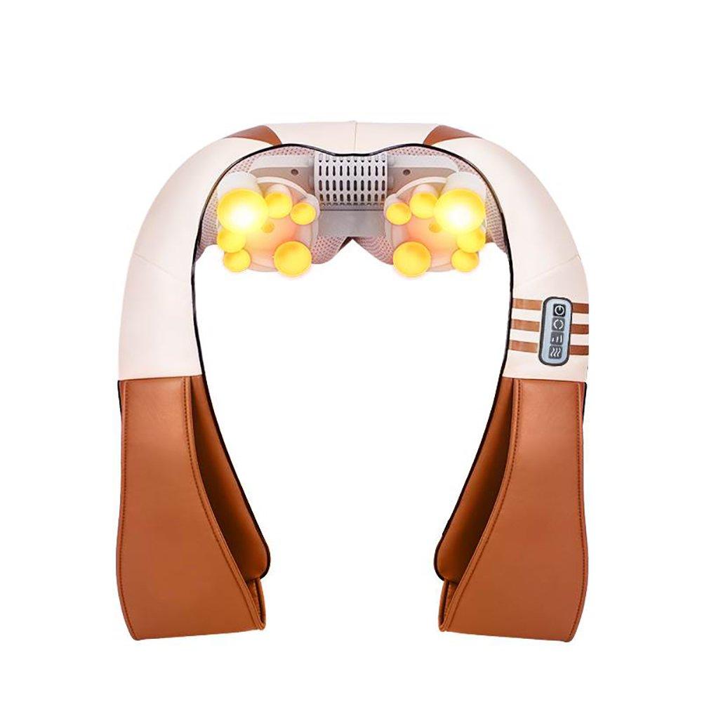 YD 電気マッサージャー -/& - マッサージャーは首と肩の後ろを指します赤外線加熱U字型混練機ホームカー360°マッサージショールは酸性睡眠を緩和します/& YD B07NMCXQM8, 陶磁器会館:b2b950fc --- lembahbougenville.com