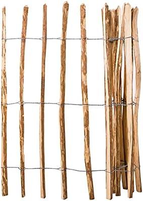 Festnight Valla de Jard/ín Listones de Madera Impregnada 120 x 250 cm