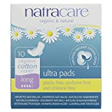 Natracare 3104 Ultra Long Pads 10 Count, 6 Pack