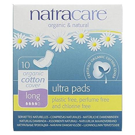 Compresas de algodón con alas (3 paquetes) de la marca Natracare: Amazon.es: Belleza