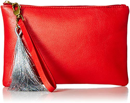 Fossil Red Leather - Fossil Wristlet Poppy Red