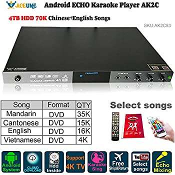 Amazon com: 6TB HDD 103K English+Chinese,+Vietnamese Songs