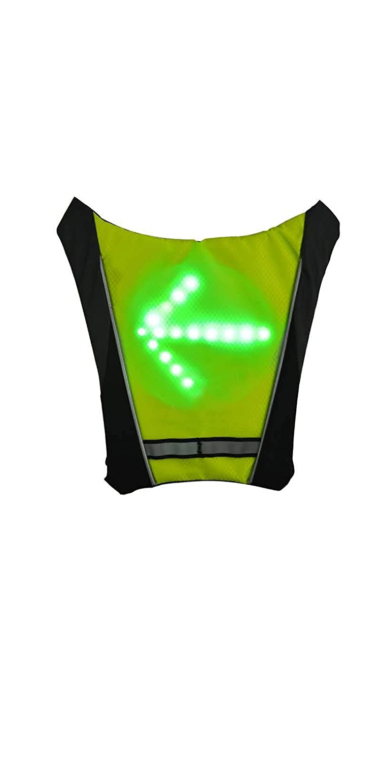ThunderStar LED Bicycle Backpack Widget for Night Road Cycling Direction Indicator Wireless Remote Control Luminous Warning knapsack Pendant B07H8WF3LK