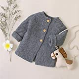 Zoiuytrg Infant Baby Girl Cardigan Sweater Fall