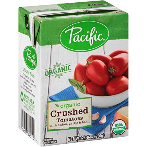 TOMATOES, OG2, CRSH, ONI, GAR , Pack of 12 by Pacific Natural Foods