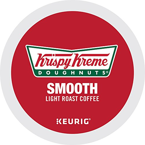 Krispy Kreme Doughnuts, Keurig Single-Serve K-Cup Pods, Smooth Light Roast Coffee, 72 Count (6 Boxes of 12 - English Style Table Coffee
