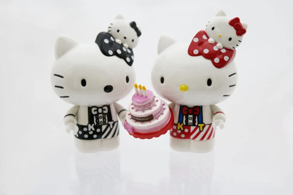Hello Kitty Go Around Singapore Collectible Figurine - Birthday Edition