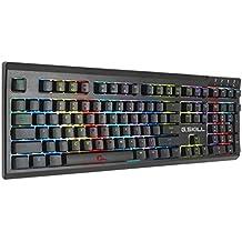 G. Skill RIPJAWS KM570 RGB Minimalistic Fully Utilized Mechanical Gaming Keyboard, Cherry MX Blue