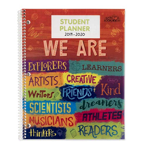 Dated Elementary Student Planner for 2019-20