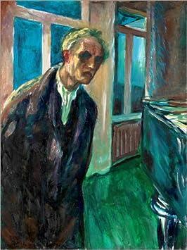 Posterlounge Alu Dibond 30 x 40 cm: Edvard Munch di Edvard Munch