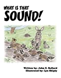 What Is That Sound!, John E. Ballard and Lyn Shiply, 1456009885