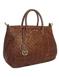 Handbag Piero Guidi intertwind pattern