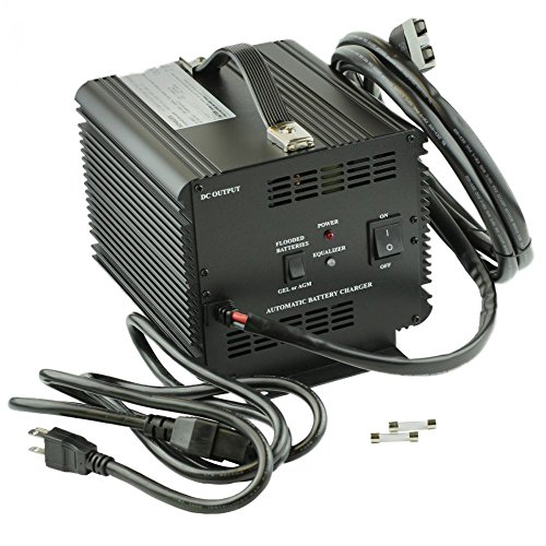 JAC1548H - Schauer Battery Chargers, Battery Charger, Stationary, 120/240 VAC Input, 48 VDC Output, 15A Charge Rate - 15a Output
