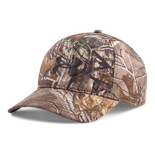 Under Armour Men's Camo Cap, Realtree Ap-Xtra/Maverick Brown, One Size
