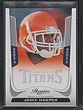 2011 Prestige Jamie Harper Titans Rookie Football Card #248