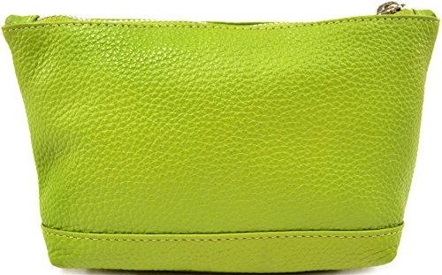 Case Womens Make Bag SNUGRUGS Soft Parrot Leather Up Genuine YwOxFdT