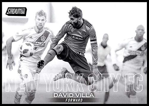 2018 Stadium Club MLS Black and White #1 David Villa New York City FC (David New York City Villa)