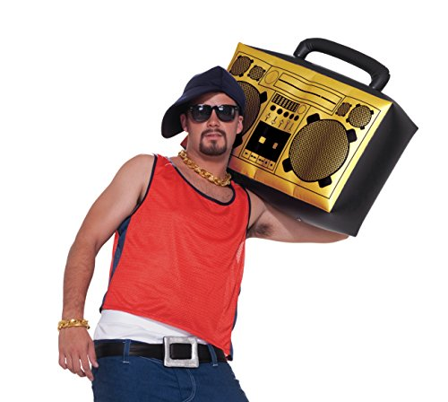 Hip Hop Inflatable Boom Box (Gold)