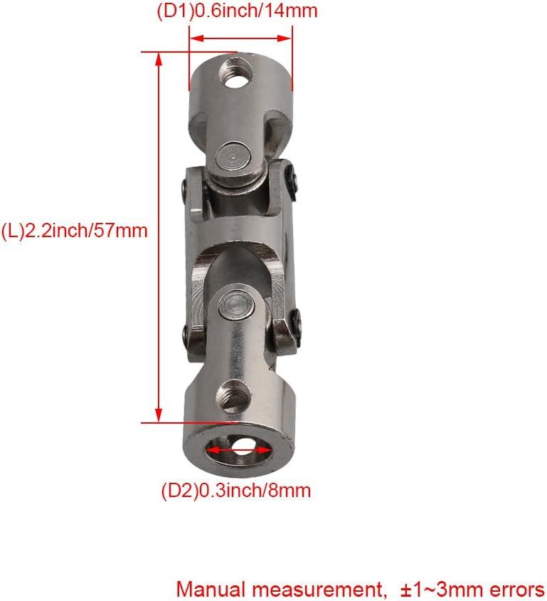 Flexible Kreuzgelenk Kardangelenk Wellenkupplung Stahl Gelenkkupplung