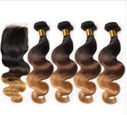 7A-Grade-Ombre-Brazilian-Hair-with-Closure-Body-Wave-With-Closure-4bundles-brazilian-Hair-Weave-Bundles-Human-Hair-With-Closure