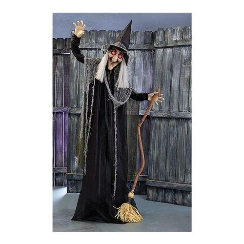 Decor (Halloween Witch Animated)