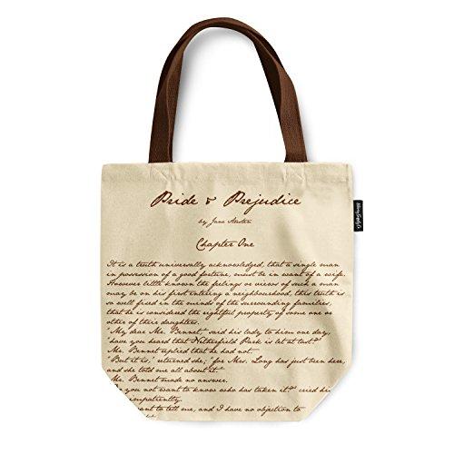 Literary Supply Co. Pride and Prejudice (Jane Austen Tote Bag)