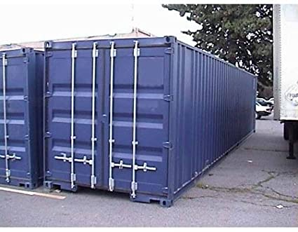 Amazoncom 40ft NEW Steel Storage Container Home Improvement