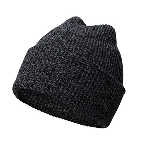 Hombre en lana del de Beanie algodón invierno Azul antracita sombrero Donovan P punto sombrero invierno A hizo Gorro de Gorro el AUwXaq