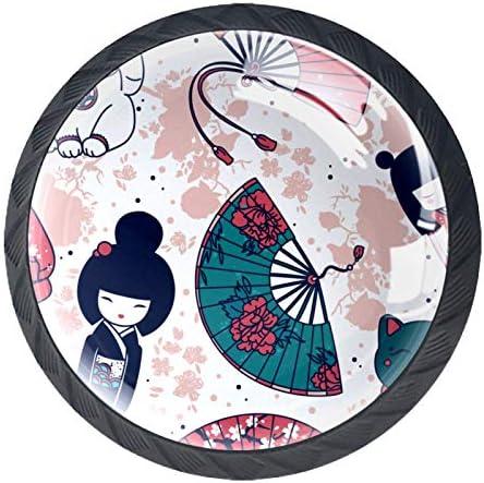HEOH Schuifladengreep voor thuis keuken makeuptafel kast traditionele Aziatische hand