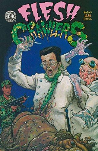 FLESH CRAWLERS(1993 KS)1-3 Alien Zombies Yum THE SET!