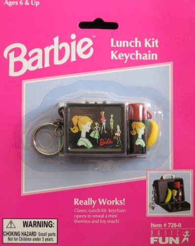 Barbie Lunch Kit Keychain: Really Works