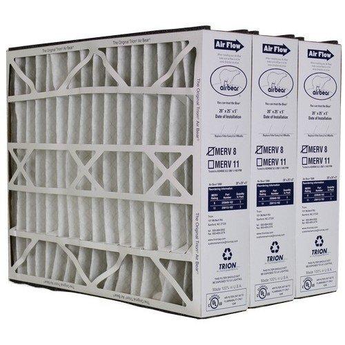 [해외]트라이 온 에어 베어 255649-102 교체 용 필터 - 상자 당 3x20x5/Trion Air Bear 255649-102 Replacement Filter - 20x25x5, Three Per Box