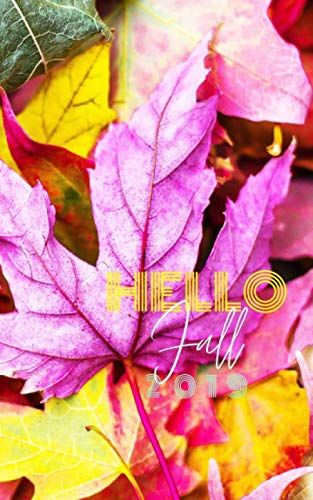Hello Fall 2019: Blank Dotgrid Notebook Journal Diary To-Do List Book for Fall with Autumn Color Leaves on cover, 100 pages 8