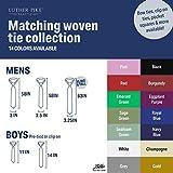 "Handmade 11"" Zipper Ties For Boys Woven Boys"