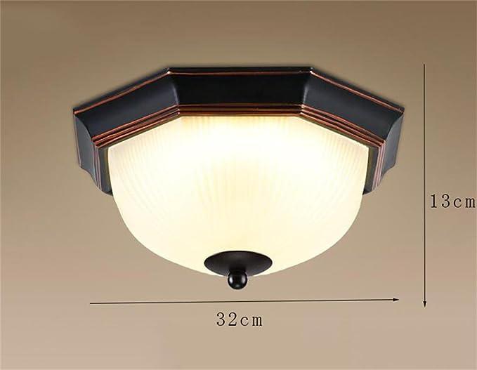 Popahome lampada a led soffitto retro illuminazione cucina