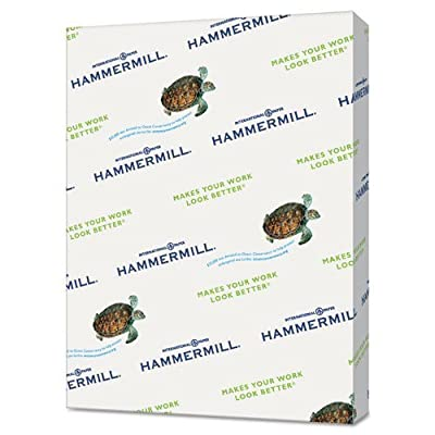 """Hammermill - Colored Copy Paper, 20Lb, 8-1/2""""x11"""", 500/RM, Lilac, Sold as 1 Ream, HAM 102269"""