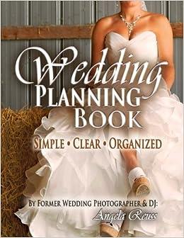 wedding planning book easy wedding planner with clear organized