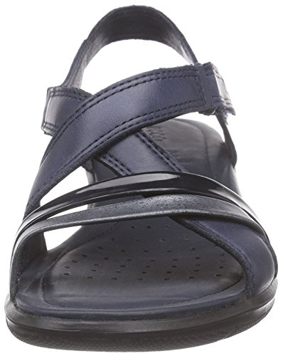 Ecco Felicia Damen Slingback Sandalen Blau (51769marine/black/marine)