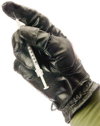 Turtleskin検索手袋 – Police手袋 – ニードルResistant Gloves  B078K52PCW
