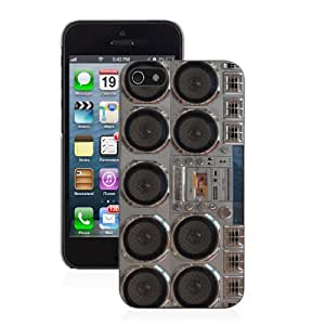 Radio Boombox - iPhone 4/4s Glossy Black Case
