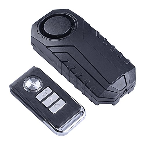 Electronics : BS 113dB Wireless Anti-Theft Vibration Motorcycle Bicycle Alarm Waterproof Security Cycling Bike Alarm with Remote