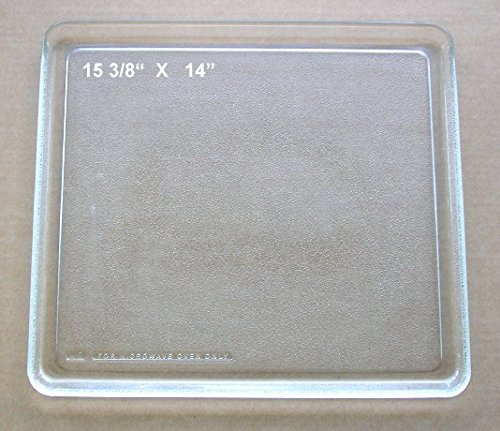 Vintage Pre Owned Square Microwave Glass Tray 15 3/8