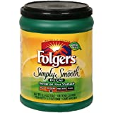 Folgers Simply Smooth Decaffeinated Ground Coffee, 11.5 Ounce (Pack of 6)